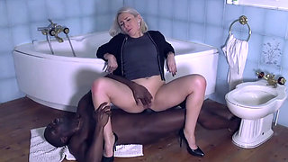 Mature Slut Fucks BBC