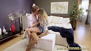 Dane Jones Blowjob and POV cowgirl with horny French fuck buddy