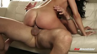 brunette sexpot sofi ryan fucks with all the passion she has to offer