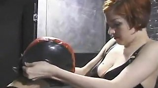 Two Hot Women Experiment with Femdom Sex