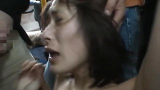 Abusing a Sexy Asian in The Bus