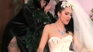 Cheating Lesbian Bride with Mother in Law