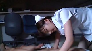 Exotic Japanese chick Miyuki Yokoyama in Incredible Doggy Style, Stockings JAV scene