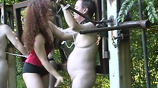 Horny pornstar Mistress Raven in crazy outdoor, brunette porn movie