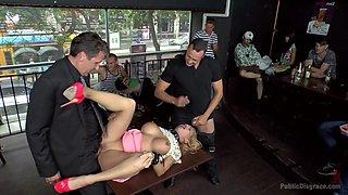 Busty Blonde Isabella Clark Public Double Penetration - Part 1 - PublicDisgrace