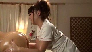 Best Japanese slut Sena Ayumu, Rui Natsukawa, Shizuka Hasegawa in Incredible Massage, Small Tits JAV clip