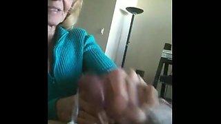 Granny Cum Cleaner