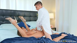 Future bride Ariella Ferrera fucks a stranger for the last time