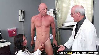 Brazzers dirty doctor destiny dixo is needs a big dick to keep her happy