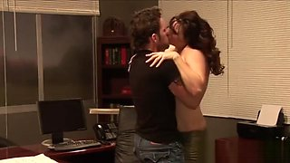 Hot sex in the director's office