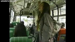 japanese lesbians on a bus