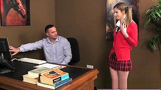Teen blows teacher