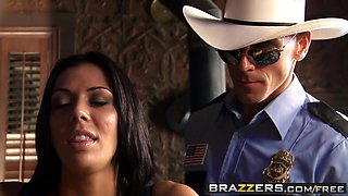 Brazzers - Big Tits In Uniform - Rachel Starr Johnny Sins - A Real Man..-
