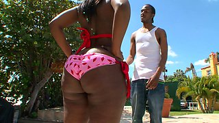 Chanel Staxxx is a honey in stockings ready to bend over for a dick
