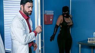 Phoenix Marie & Charles Dera & Michael Vegas in Break The Sperm Bank - Brazzers