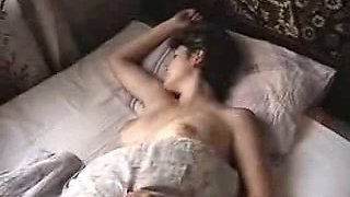 Made an amateur homemade clip while sexy mamma was sleeping naked