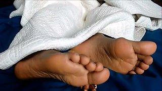 Cute Friend Sleeping feet pt 2